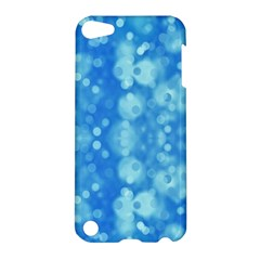 Light Circles, dark and light blue color Apple iPod Touch 5 Hardshell Case