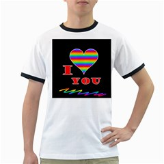 I love you Ringer T-Shirts