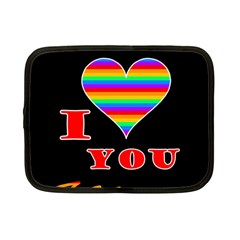 I love you Netbook Case (Small)