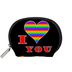I love you Accessory Pouches (Small)