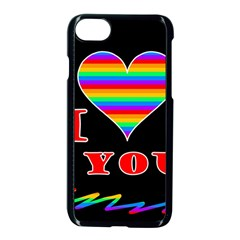 I Love You Apple Iphone 7 Seamless Case (black)