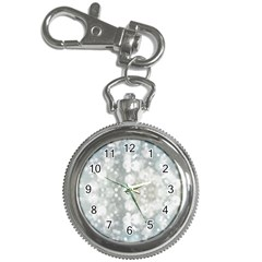 Light Circles, blue gray white colors Key Chain Watches