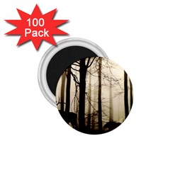 Forest Fog Hirsch Wild Boars 1.75  Magnets (100 pack)