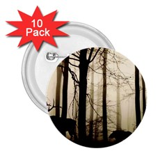 Forest Fog Hirsch Wild Boars 2.25  Buttons (10 pack)