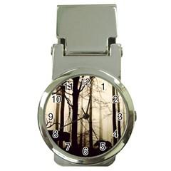 Forest Fog Hirsch Wild Boars Money Clip Watches