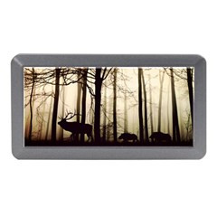 Forest Fog Hirsch Wild Boars Memory Card Reader (Mini)