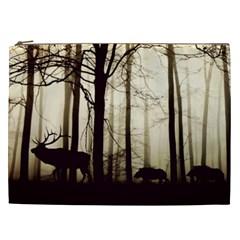 Forest Fog Hirsch Wild Boars Cosmetic Bag (XXL)