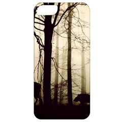 Forest Fog Hirsch Wild Boars Apple iPhone 5 Classic Hardshell Case