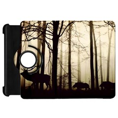 Forest Fog Hirsch Wild Boars Kindle Fire HD 7