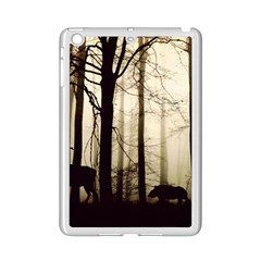 Forest Fog Hirsch Wild Boars iPad Mini 2 Enamel Coated Cases