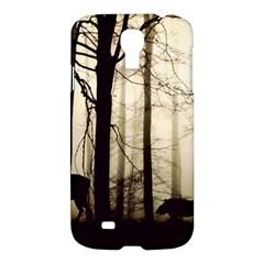 Forest Fog Hirsch Wild Boars Samsung Galaxy S4 I9500/I9505 Hardshell Case