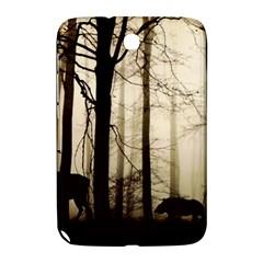 Forest Fog Hirsch Wild Boars Samsung Galaxy Note 8.0 N5100 Hardshell Case