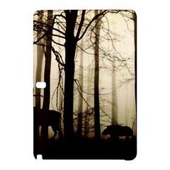 Forest Fog Hirsch Wild Boars Samsung Galaxy Tab Pro 10.1 Hardshell Case