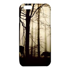 Forest Fog Hirsch Wild Boars iPhone 6/6S TPU Case