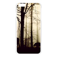 Forest Fog Hirsch Wild Boars Apple Seamless iPhone 6 Plus/6S Plus Case (Transparent)