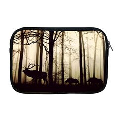 Forest Fog Hirsch Wild Boars Apple MacBook Pro 17  Zipper Case