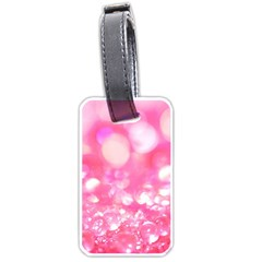 Pink diamond  Luggage Tags (Two Sides)