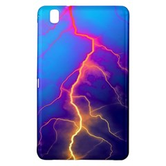 Lightning colors, blue sky, pink orange yellow Samsung Galaxy Tab Pro 8.4 Hardshell Case