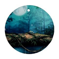 Mysterious fantasy nature  Ornament (Round)
