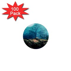Mysterious fantasy nature  1  Mini Magnets (100 pack)