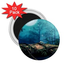 Mysterious fantasy nature  2.25  Magnets (10 pack)