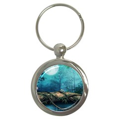 Mysterious fantasy nature  Key Chains (Round)