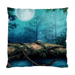 Mysterious Fantasy Nature  Standard Cushion Case (two Sides)
