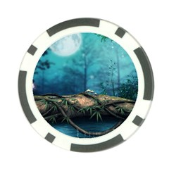 Mysterious fantasy nature  Poker Chip Card Guards (10 pack)