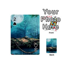 Mysterious fantasy nature  Playing Cards 54 (Mini)