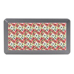 Gorgeous Red Flower Pattern Memory Card Reader (Mini)