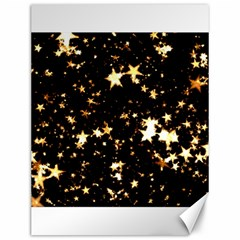 Golden stars in the sky Canvas 12  x 16