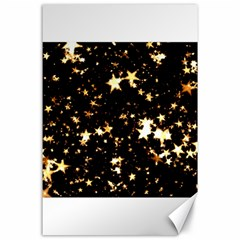 Golden stars in the sky Canvas 24  x 36