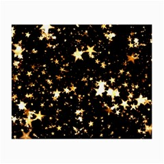 Golden stars in the sky Small Glasses Cloth (2-Side)