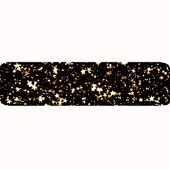 Golden stars in the sky Large Bar Mats