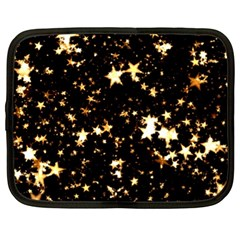 Golden stars in the sky Netbook Case (XL)