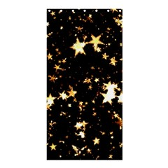 Golden stars in the sky Shower Curtain 36  x 72  (Stall)