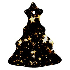 Golden stars in the sky Ornament (Christmas Tree)