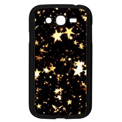 Golden stars in the sky Samsung Galaxy Grand DUOS I9082 Case (Black)