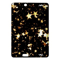 Golden stars in the sky Amazon Kindle Fire HD (2013) Hardshell Case