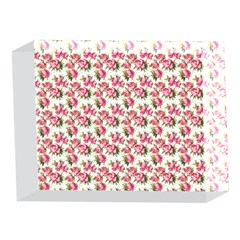 Gorgeous Pink Flower Pattern 5 x 7  Acrylic Photo Blocks
