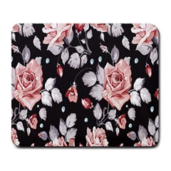 Vintage Flower Large Mousepads