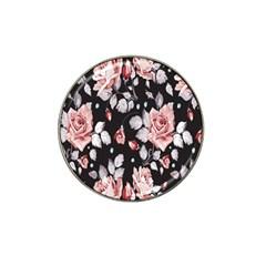 Vintage Flower Hat Clip Ball Marker (10 pack)