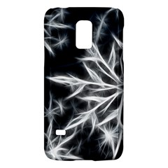 Snowflake In Feather Look, Black And White Galaxy S5 Mini