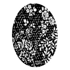 Flower Ornament (Oval)