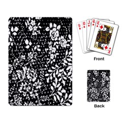 Flower Playing Card
