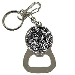 Flower Bottle Opener Key Chains