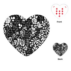 Flower Playing Cards (Heart)