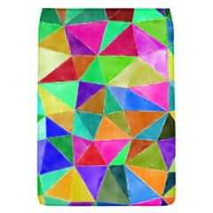 Triangles, colorful watercolor art  painting Flap Covers (S)