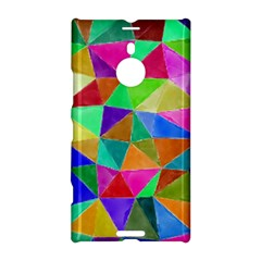 Triangles, colorful watercolor art  painting Nokia Lumia 1520