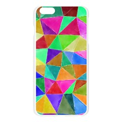 Triangles, colorful watercolor art  painting Apple Seamless iPhone 6 Plus/6S Plus Case (Transparent)